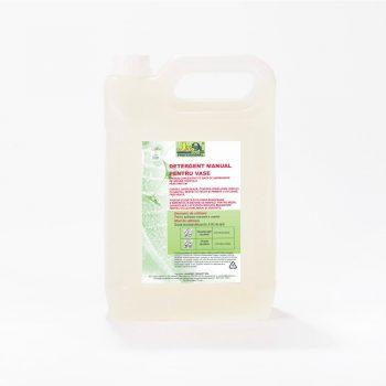 Detergent manual pentru vase(eticheta ecolabel)