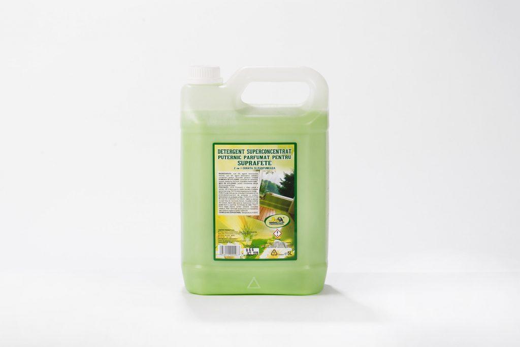 Detergent superconcentrat puternic parfumat pentru suprafete