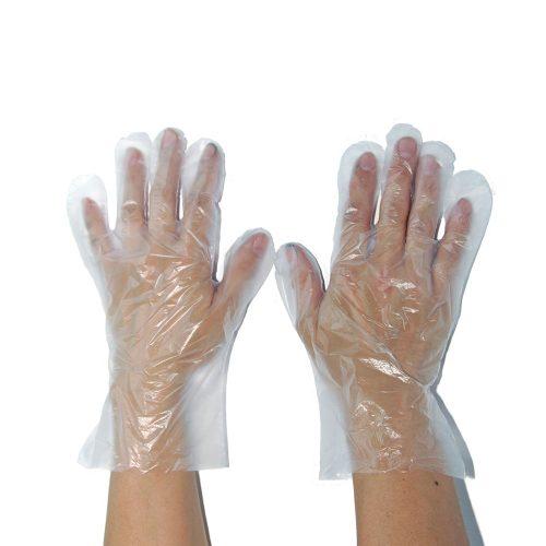 Manusi ambidextre din polietilena