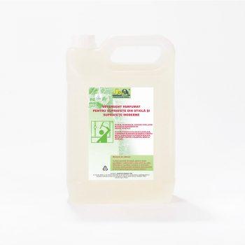 Detergent parfumat pt. suprafete din sticla si suprafete moderne (eticheta ecolabel)