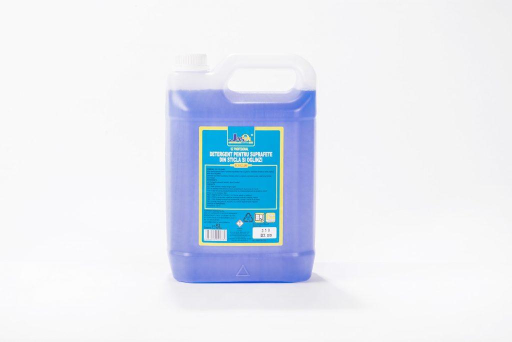 Detergent pentru suprafete din sticla si oglinzi - eco glass
