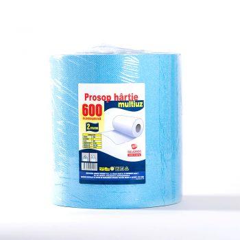 Prosop hartie multiuz 2 straturi, 600foi/rola