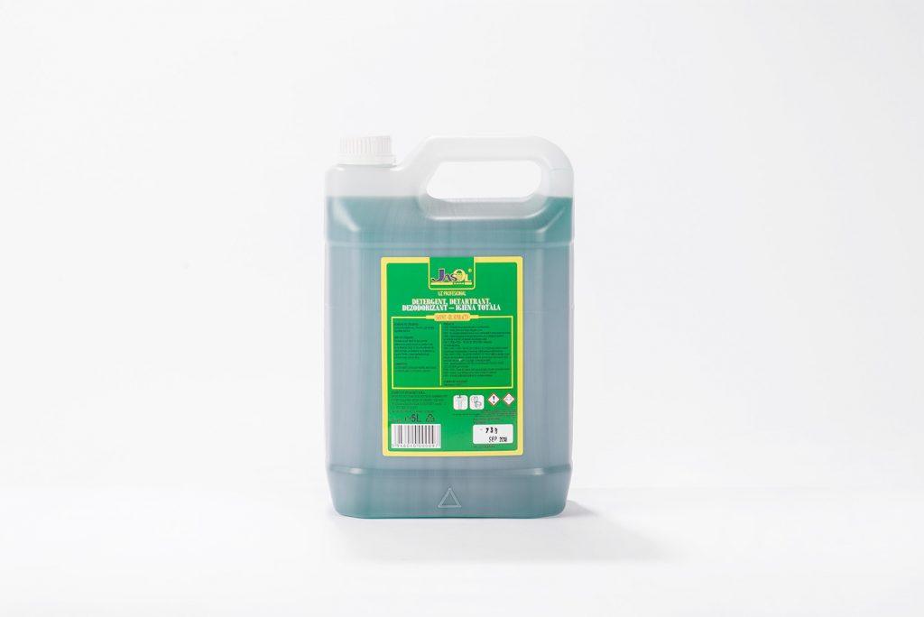 Detergent, detartrant, dezodorizant - igiena totala saninet